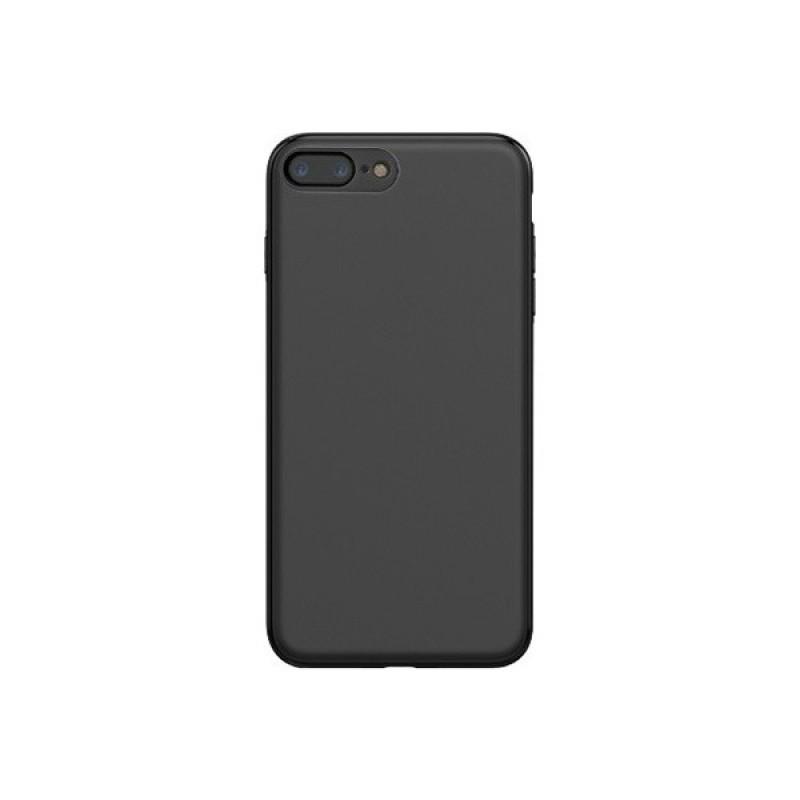 iPhone 7-8 Yk Design Siyah Silikon Kılıf