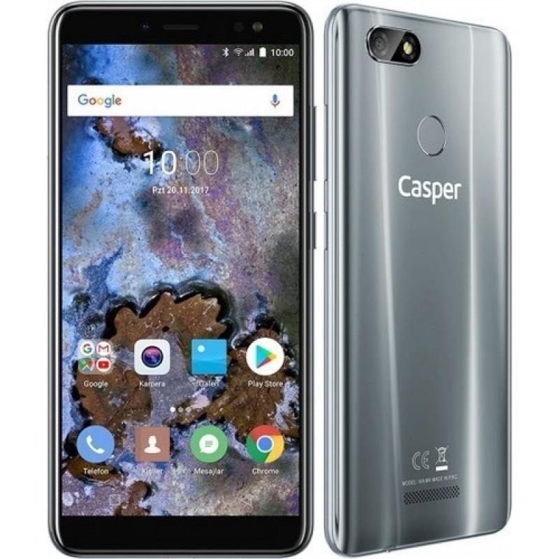 Casper Via M4 32 GB Gri Cep Telefonu