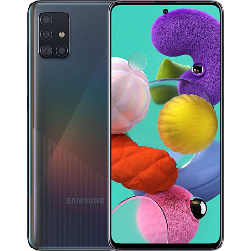 Samsung Galaxy A51 128 GB Siyah Samsung Türkiye Garantili