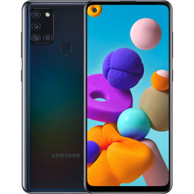 Samsung Galaxy A21S 64 GB Siyah Samsung Türkiye Garantili